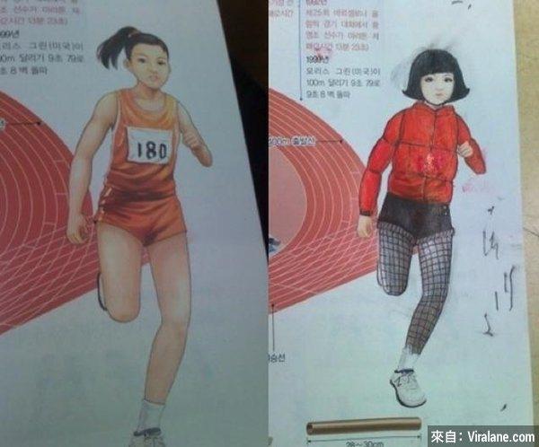 Cuộc đuamarathon mùa hè đã đượcdời lại mùa đông và trang phục cũng như kiểu tóccũng thời trang hơn hẳn. (Ảnh: Internet)