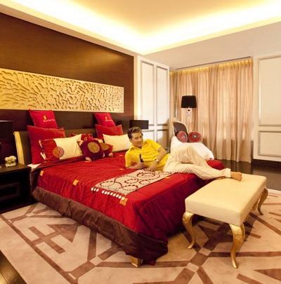 Phòng ngủ với nội thất tinh tế, đầy thủ tiện nghi. - Tin sao Viet - Tin tuc sao Viet - Scandal sao Viet - Tin tuc cua Sao - Tin cua Sao