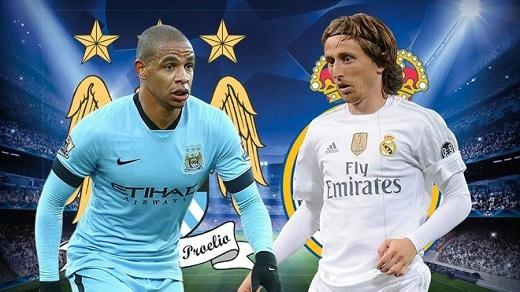 Fernando (3/5):Chơi thấp hơn so với đồng đội Fernandinho và trở thành tấm lá chắn vững chãi trước hàng phòng ngự đội chủ nhà. Luka Modric (3/5):Cựu cầu thủ Tottenham hoàn thành khá tốt nhiệm vụ điều tiết lối chơi cho Real Madrid.