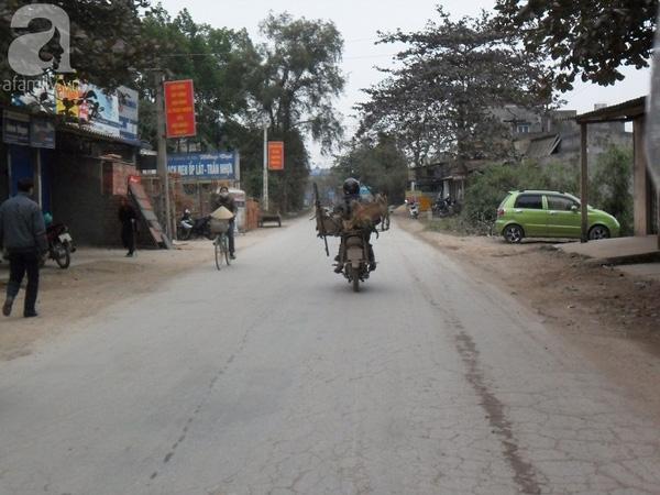 Khu vực xã Ký Phú nơi đối tượng Quý bị bắt.