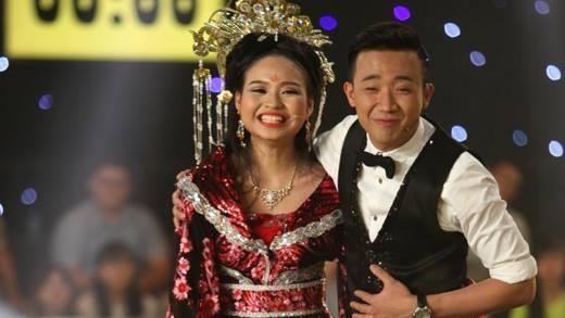 Trấn Thành, Trường Giang phát cuồng vì con gái xinh đẹp của Lê Giang