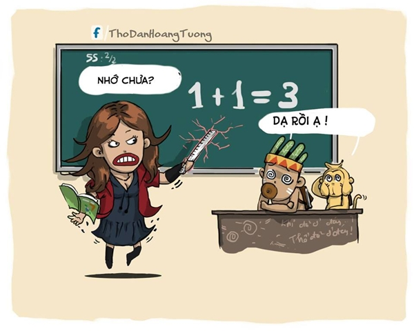 """Còn cô vợ Scarlet Witch thì lui về dạy học, lớp học """"hot"""" còn hơn lớp của cô giáo Bò Cạp.(Ảnh: Nhà Thổ)"""