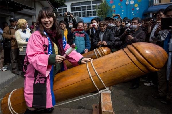 Lễ hội tín ngưỡng phồn thựcKanayama Matsur.