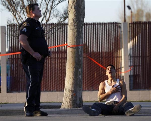 Chàng trai này lúc vừa nghe tin anh trai mình đã bị sát hại.