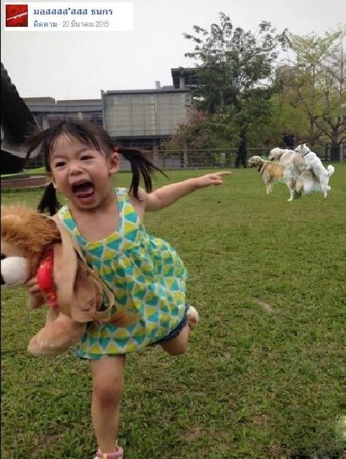 Thêm một bé gái là nạn nhân của các thánh Photoshop trên mạng xã hội