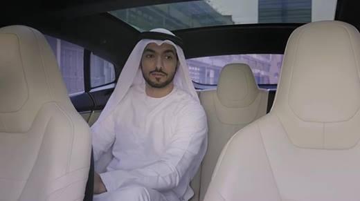 Thích thú với dịch vụ taxi tự động không người lái ở Dubai