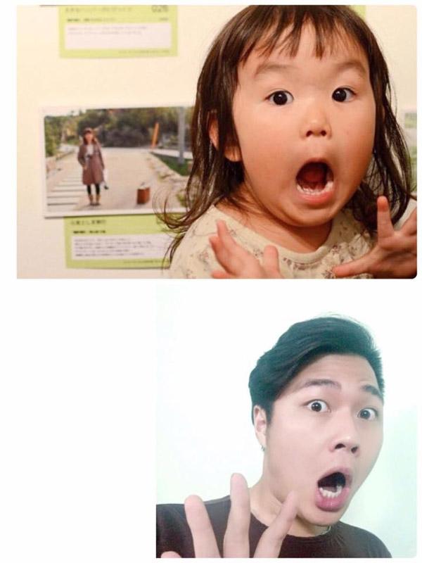 Giới trẻ Việt đua nhau cover những biểu cảm siêu dễ thương của nhóc tì Nhật