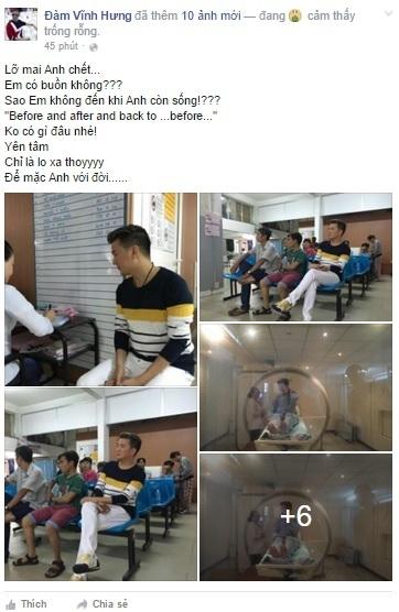 Người hâm mộ lo lắng khi Đàm Vĩnh Hưng nhập viện - Tin sao Viet - Tin tuc sao Viet - Scandal sao Viet - Tin tuc cua Sao - Tin cua Sao