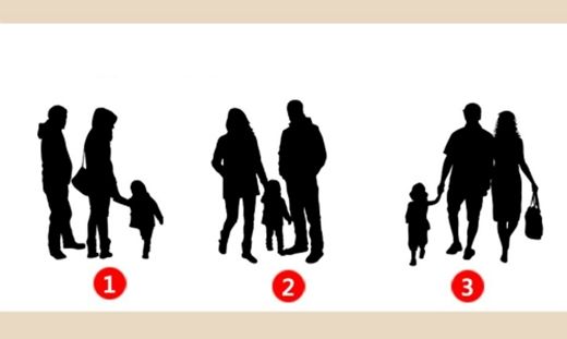 Gia đình nào trong mắt bạn là hạnh phúc nhất? (Ảnh: Internet)