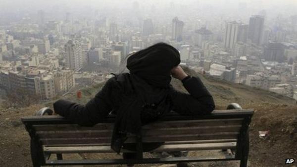 Thành phố chìm trong làn khói ô nhiễm độc hại.