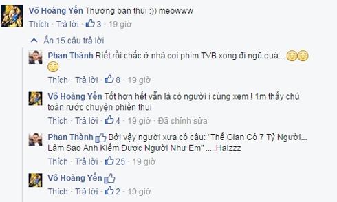 Võ Hoàng Yến lên tiếng bên Phan Thành và phủ nhận chuyện anh có tình mới. - Tin sao Viet - Tin tuc sao Viet - Scandal sao Viet - Tin tuc cua Sao - Tin cua Sao