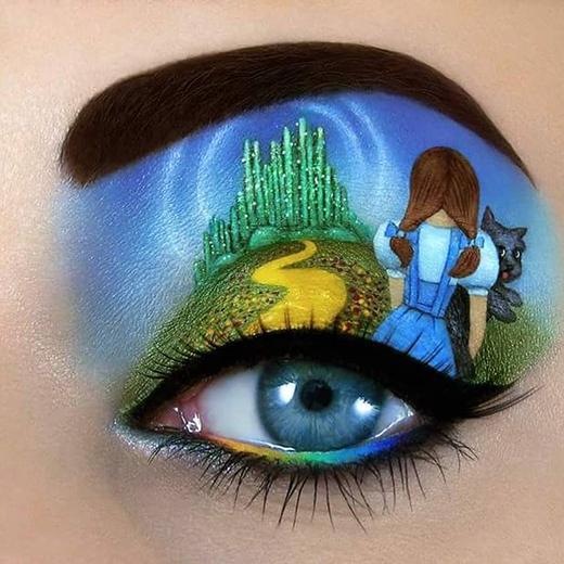 Một cảnh trong Phù thủy xứ Oz đấy, bạn có nhận ra được không? (Ảnh: Tal Peleg)