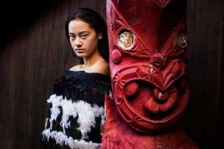 Bức ảnh này được chụp ở Maori, New Zealand.