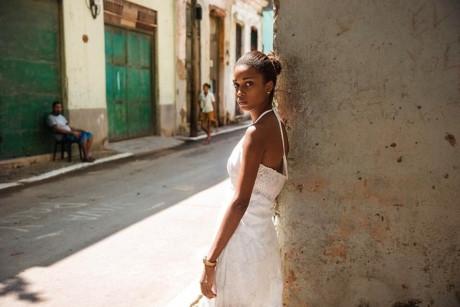 Trên đường phố Havana, Cuba.