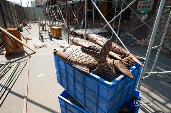 Những con cá này được làm từ cao su nhựa PolyUrethane (PU).