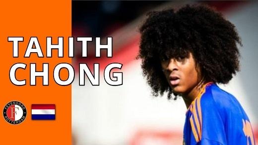 Tài năng trẻ Tahith Chong hiện đang thi đấu cho U17 Hà Lan và Feyenoord