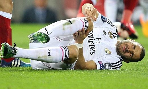 Benzema có thể sẽ vắng mặt trong phần còn lại của mùa giải