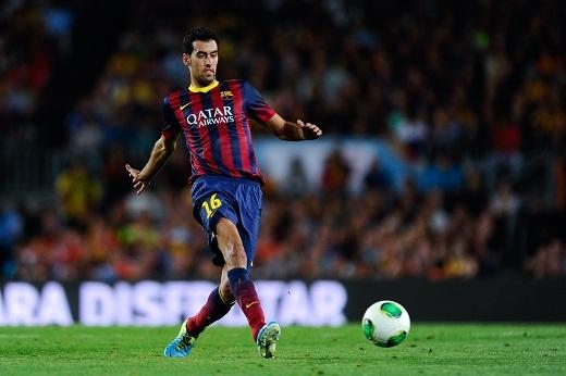 Sergio Busquets đang là tiền vệ phòng ngự hàng đầu thế giới