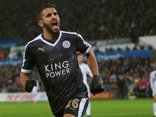 Riyad Mahrez đang là linh hồn trong lối chơi của Leicester City
