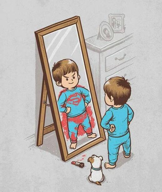 Tuổi thơ, ai cũngcó nhân vật anh hùng của riêng mình. (Ảnh minh họa)