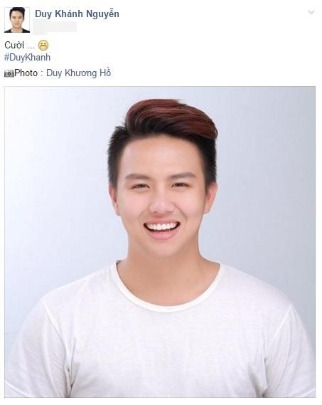 """Cây hài trẻ Duy Khánh khiến fan bật cười bởi tấm ảnh thẻ """"toe toét"""". - Tin sao Viet - Tin tuc sao Viet - Scandal sao Viet - Tin tuc cua Sao - Tin cua Sao"""