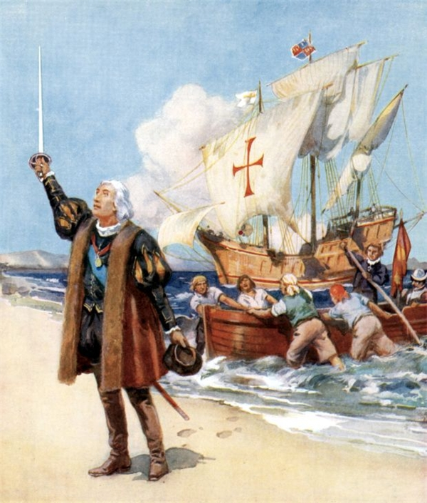 Columbus không hề nghĩ rằng Trái Đất phẳng. Sự thật, ông không hề lên đường để chứng minh Trái Đất tròn vì từ trước đó 2.000 năm, các nhà toán học người Hy Lạp cổ đại đã chứng minh được điều này. Sở dĩ Columbus dong thuyền ra đi là vì ông đã tính toán sai chu vi của Trái Đất. Ông cho rằng có thể đến được châu Á bằng cách đi về hướng Tây, cuối cùng lại cập bến ở châu Mỹ.