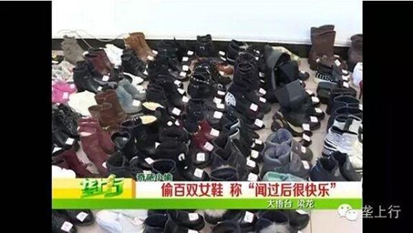 Những đôi giày người đàn ông trộm được lên tới 160 đôi chỉ để được ngửi chúng hằng ngày.