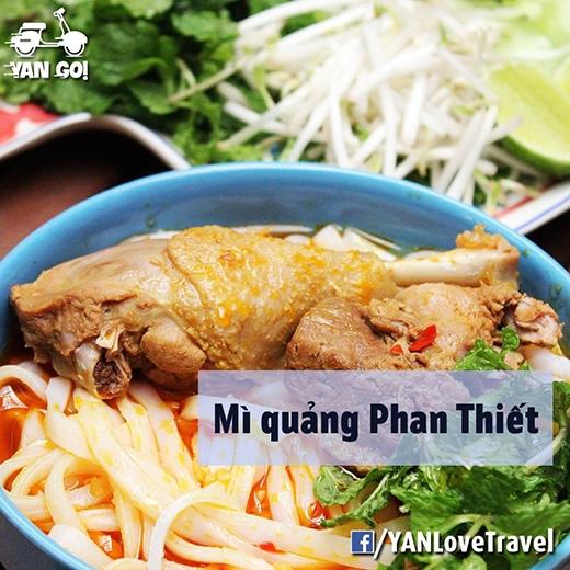 Mì quảng ở Phan Thiết không hề giống ở Quảng Nam đâu à! (Ảnh: Internet)