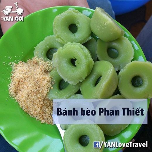 Bánh bèo ngọt lá dứa - đặc sản Phan Thiết. (Ảnh: Internet)