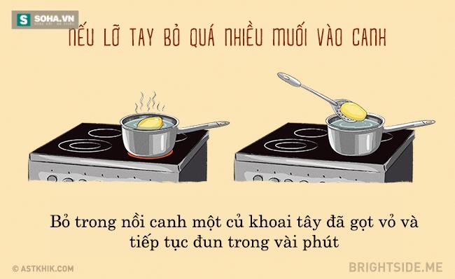 15 mẹo vặt tuyệt vời nhất sẽ giúp bạn nấu ăn dễ dàng hơn
