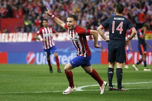 Saul Niguez đang được cả Barcelona và Manchester United săn đón