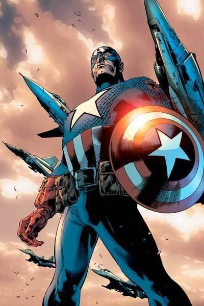 """Trong bảng xếp hạng của IGN về """"100 người hùng trong truyện tranh của thời đại"""", Captain America đã đứng thứ 6"""