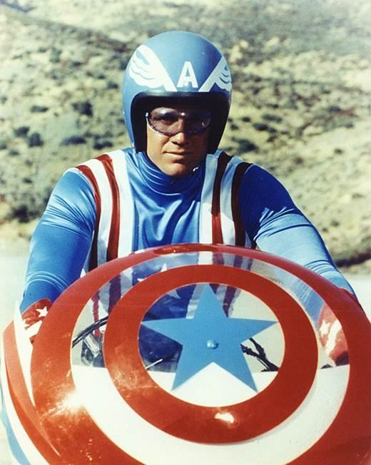 """Năm 1979 câu chuyện siêu anh hùng này được dựng thành một bộ phim truyền hình, với tên gọi """"Captain America II: Death Too Soon"""""""