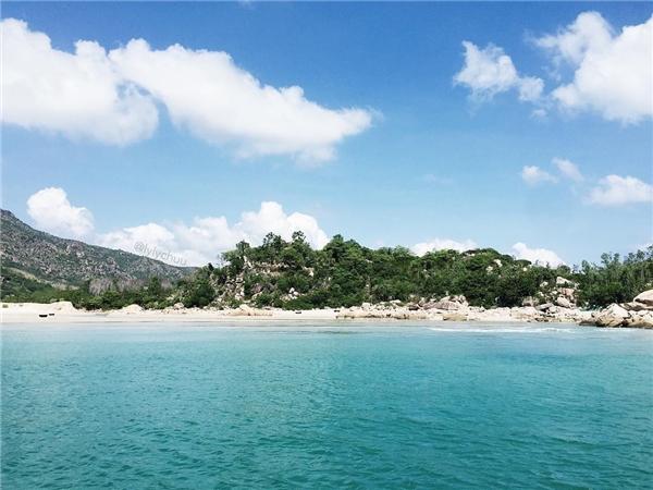 Biển Bình Tiên, Ninh Thuận(Ảnh: Instagram @lylychuu)
