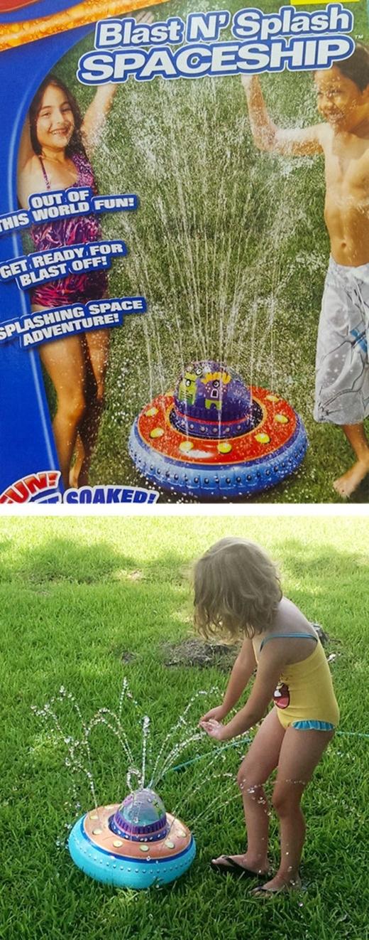 Ờ thìlà nó hơi bé hơn một chút xíu, và nước hơi yếu so với quảng cáothôi ấy mà.(Ảnh: Internet)