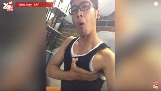 Mẹo Hay 180: Hướng dẫn selfie dành cho các bạn Nam