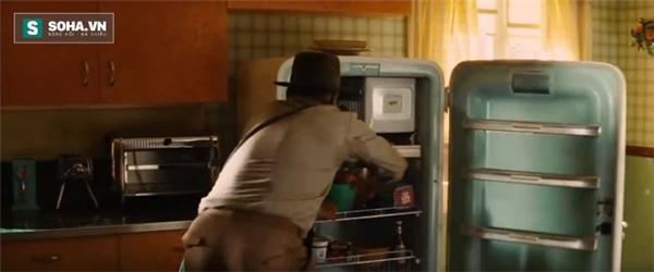 """Chiếc tủ lạnh """"chống"""" bom hạt nhân."""