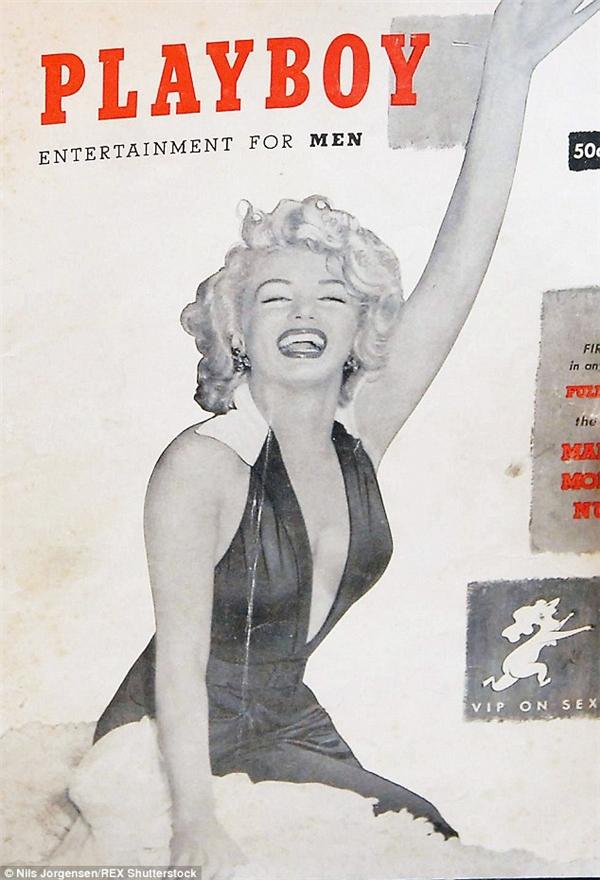 Ấn phẩm đầu tiên của Playboy với sự xuất hiện của Marilyn Monroe trên trang bìa ra đời vào tháng 12/1953.(Ảnh: Shutterstock)