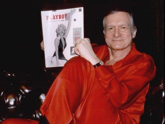 Tỉ phú Hugh Hefner - người sáng lập Playboy.(Ảnh: Internet)