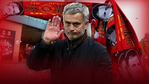 Jose Mourinho là ứng viên thay thế Van Gaal dẫn dắt MU. Ảnh:Sky Sports.