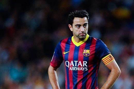 Xavi Hernandez trong màu áo Barcelona