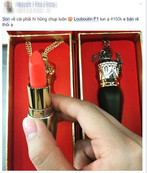 Đây chính là cách mà người ta làm ra những thỏi son Louboutin Fake
