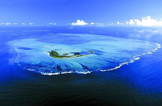 """""""Thiên đường"""" ở Tây Nam Ấn Độ Dương. (Ảnh: Internet)"""