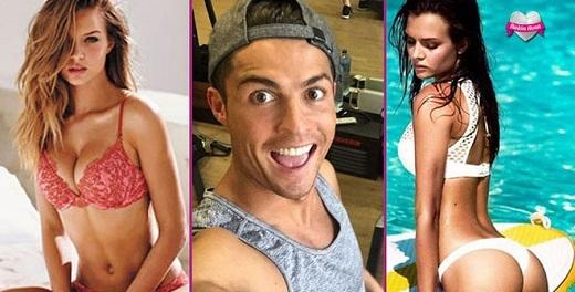 """Xuất sắc, đây mới là cô gái đang """"đốn tim"""" Ronaldo"""