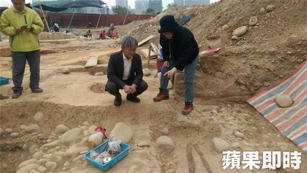 Khu mộ tập thể cổ dưới lòng đất tại Đài Trung, Đài Loan. (Ảnh: Internet)