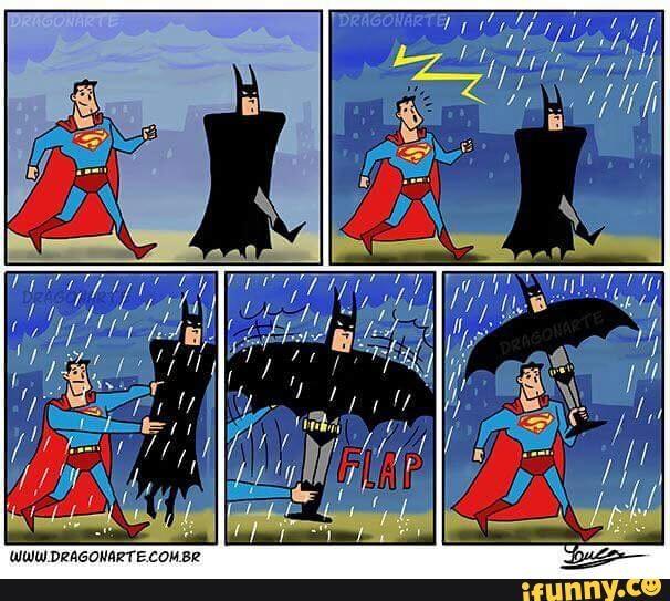 Mưa đã có ô.