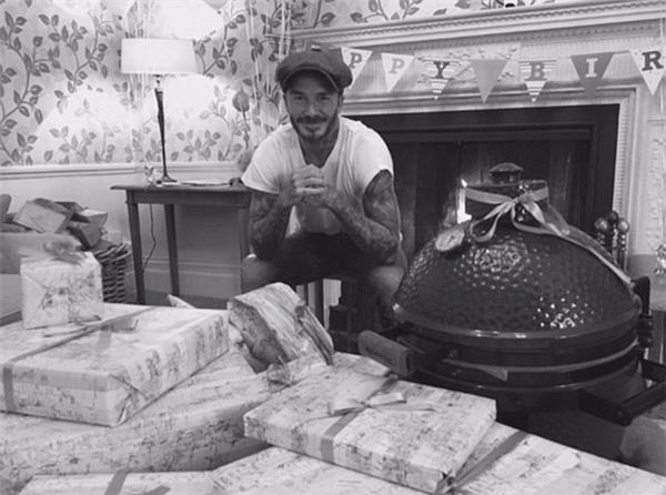 Beckham đã có một sinh nhật ấm áp bên gia đình.