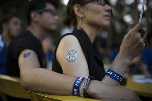 Người Thái rầm rộ ăn mừng chức vô địch của Leicester City
