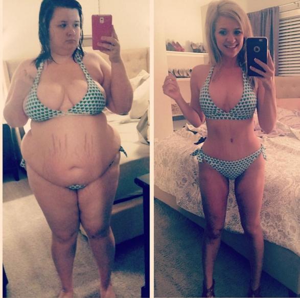 Cô gái giảm tới 68kg trong vòng hơn 1 năm để trả thù bạn trai cũ