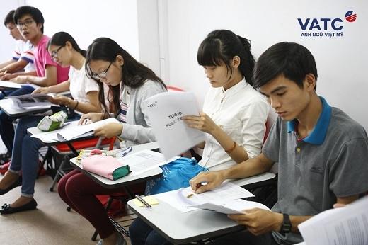 """VATC thường xuyên tổ chức các chương trình thi thử miễn phí các chứng chỉ quốc tế giúp học viên có dịp trải nghiệm """"thử như thật"""""""